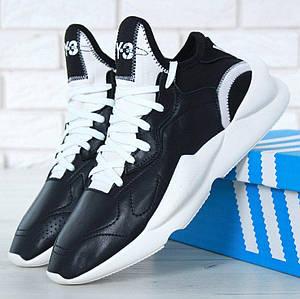 Мужские Кроссовки Yohji Yamamoto x Adidas Y-3 Kaiwa Chunky Sneakers Black/White