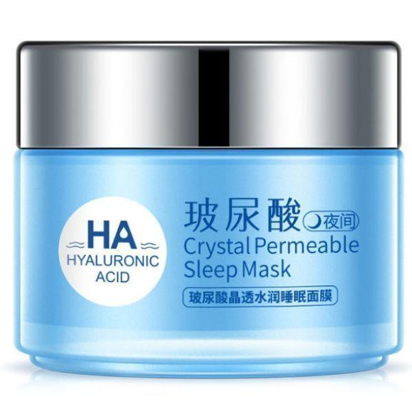 Ночная маска для лица ONE SPRING HYALURONIC ACID Crystal Permeable Mask с гиалуроновой  кистотой, маслом