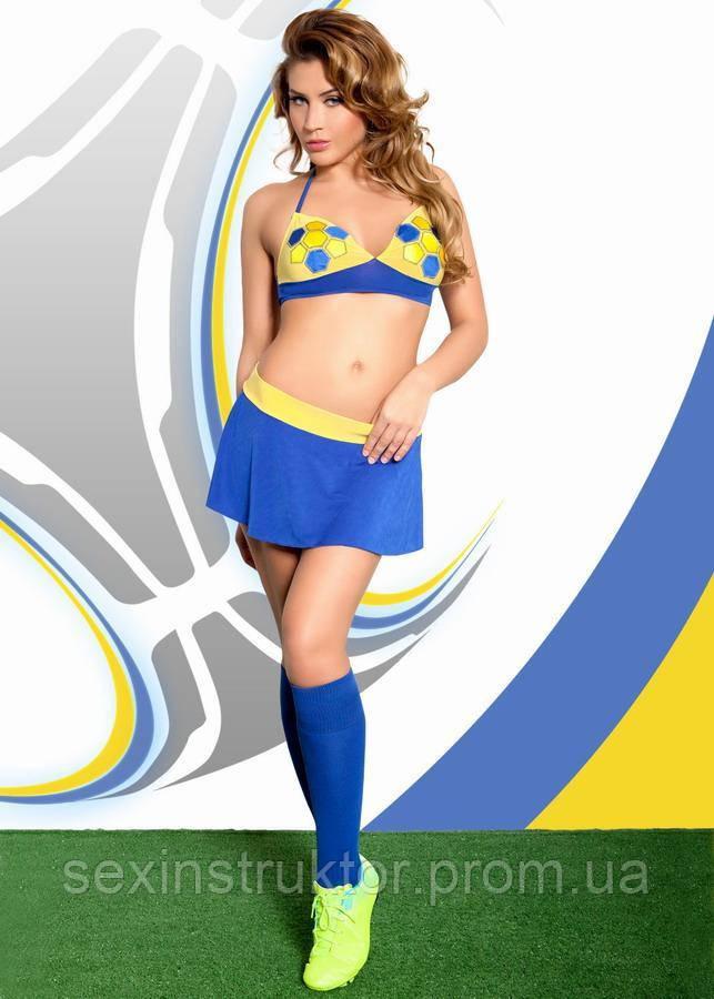 Ролевой костюм - Ola, желто-синий