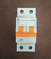 Автоматический выключатель 2 полюса 20А DG6 General Electric