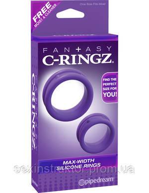 Эрекционные кольца - Fantasy C-Ringz  Max Width Silicone Rings