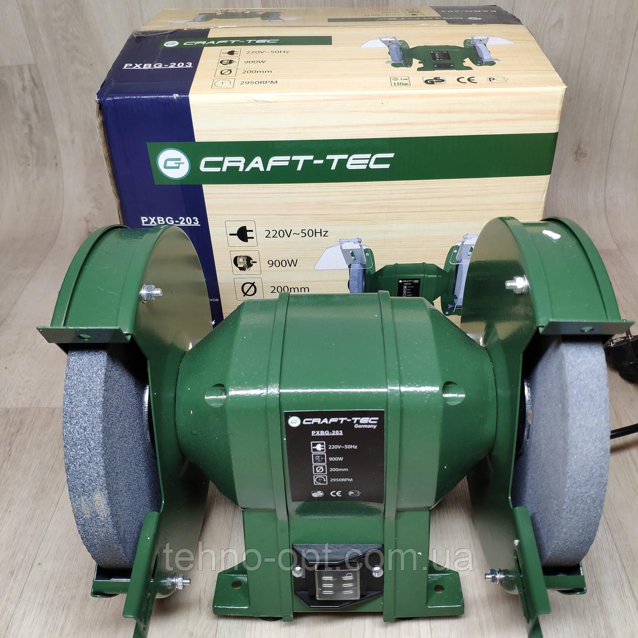Точило электрическое Craft-tec ТЭ-200