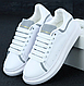 Женские кроссовки Alexander McQueen Oversized Sneakers Reflective White, фото 7