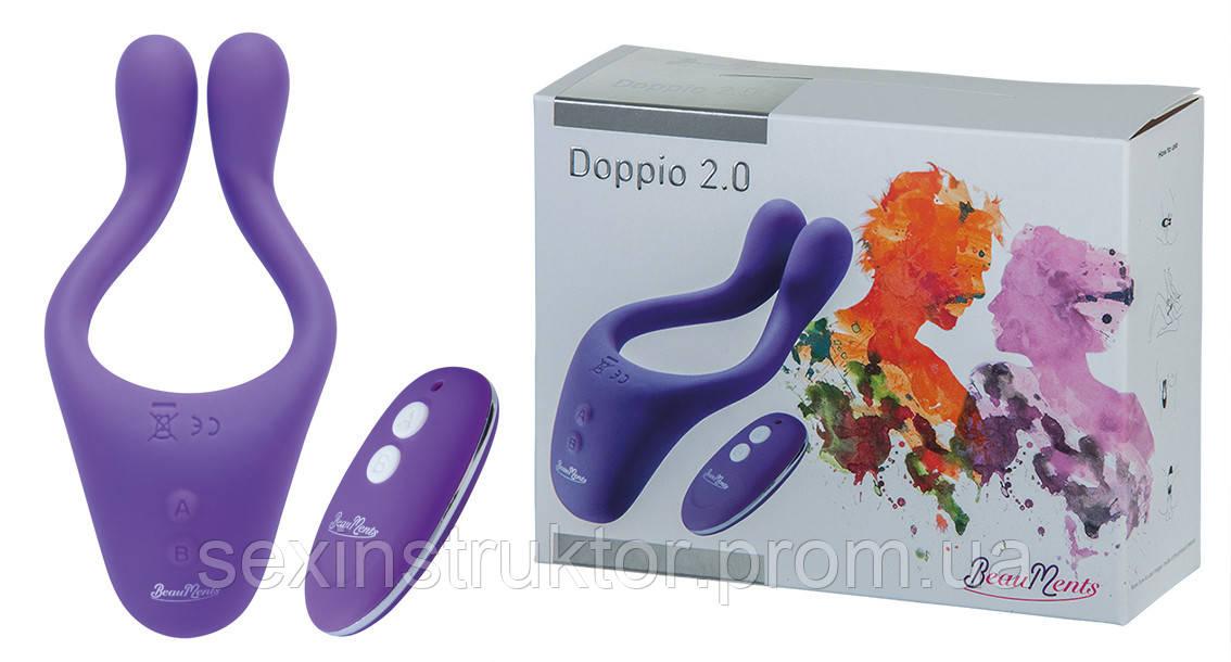 Hi-tech вибратор - BeauMents Doppio 2.0 purple