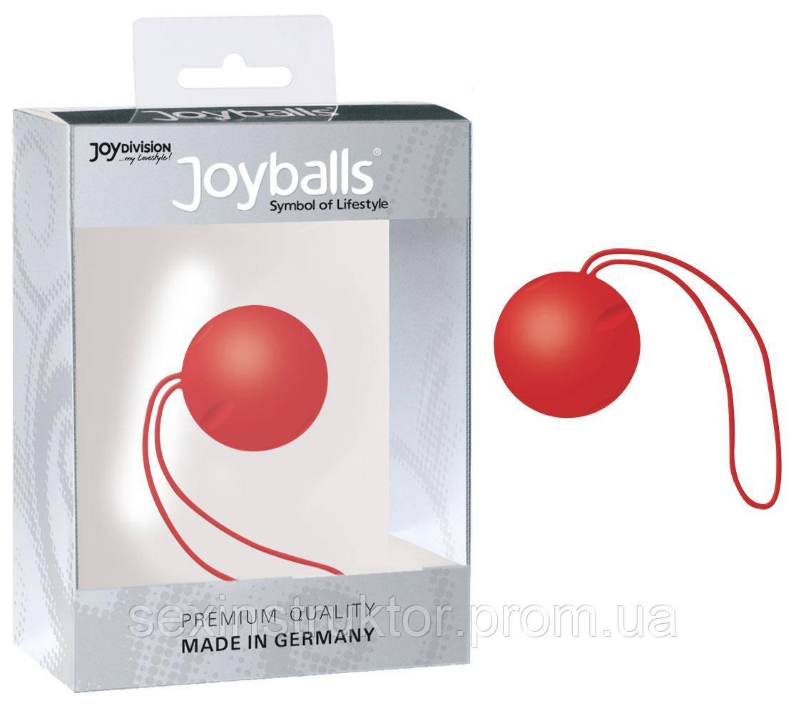 Вагинальный шарик - Joyballs single, red