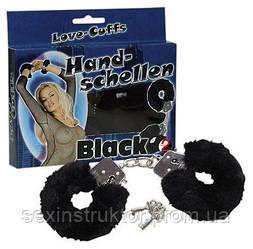 """Наручники - Handschellen""""Love Cuffs Black"""""""