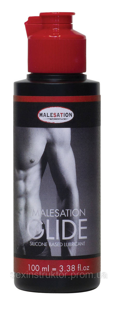 Лубрикант - MALESATION Glide (silicone based)