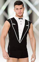 Ролевой костюм официанта - Shirt and Shorts 4604, черный