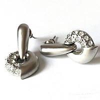 Сережки Grey Stone підвіски, фото 1