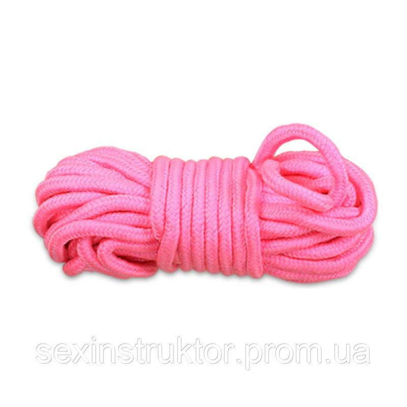 Бондаж - Fetish Bondage Rope розовый