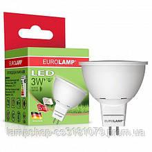 Светодиодная лампа Eurolamp SMD MR16 3W 3000K (LED-SMD-03533(D))