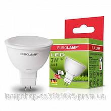 Светодиодная лампа Eurolamp SMD MR16 3W 4000K (LED-SMD-03534(D))