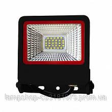 Cветодиодный прожектор Euroelectric SMD 20W 6500K (LED-FL-20(black)new)