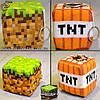 """Плюшевые Блоки-брелки из Minecraft - """"Plush Blocks"""" - 1 шт!"""