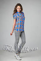Стильная молодежная блуза - рубашка