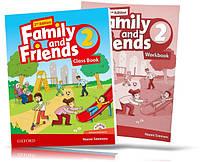 Family and Friends 2th edition 2, Class book + Workbook | учебник + тетрадь (комплект) английского языка