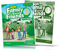 Family and Friends 2th edition 3, Class book + Workbook | учебник + тетрадь (комплект) английского языка