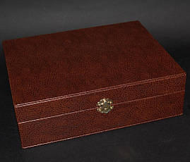 """Ножевой набор """"Козырный"""" - комплект состоит из ножа, карт, фляги в кейсе, фото 3"""