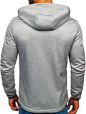 Демисезонная спортивная куртка(батник)мужская  с капюшоном Польша, фото 3