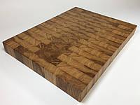 Торцевая разделочная доска из дерева