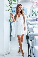 Женское платье пиджак с рукавами клеш 42-44,44-46