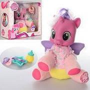 Детская интерактивная лошадка Розовая пони / Музыкальная игрушка пони «My Little Pony» 66241