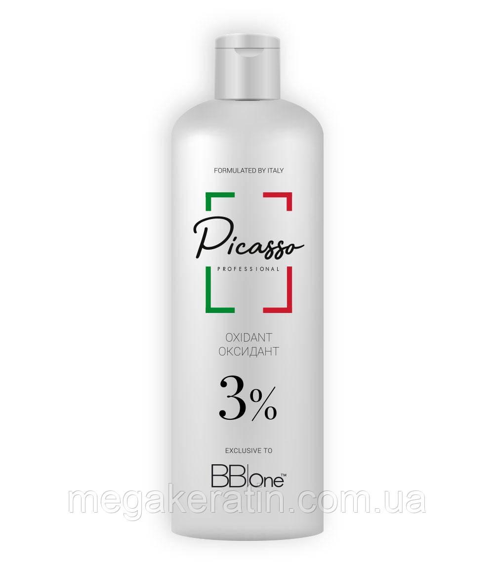 Окислительный крем-эмульсия 3% BBOne 1000 мл