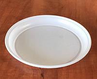 Тарелка d=205мм ПС белая 100 шт