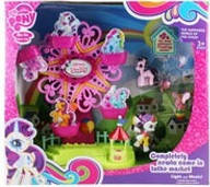 Аттракцион для пони / Игровой набор карусель с фигурками пони «My Little Pony» 789