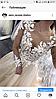 Свадебное платье чарующее рукав