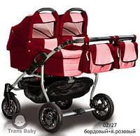Коляска Trans baby Jumper для близнецов