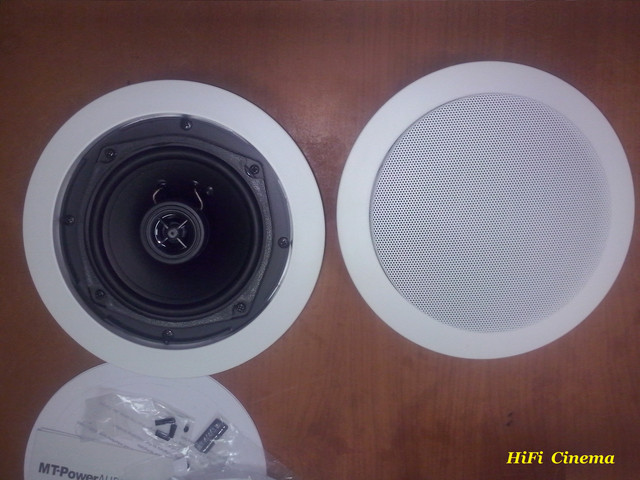MT-Power PS-50R Install Speaker in Ceiling