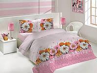 Комплект постельного белья Altinbasak (Турция) ранфорс 1,5Сп. (160х220см) Romantik 1000233