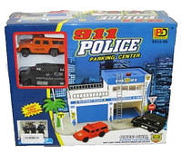 Детский паркинг полицейский гараж с машинками 5513-56, фото 1
