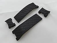Ремешок к часам Ulysse Nardin черный, 4 части, универсальный комплект