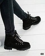 Ботинки женские зимние 1804/2 кожа/мех, фото 1
