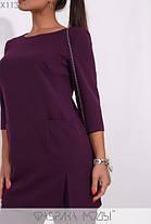 Женский повседневный костюм-брюки и удлинённая блуза батал с 48 по 62 размер, фото 2