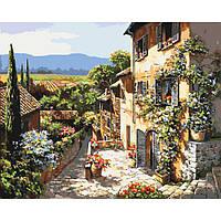 Картины по номерам / обложка. Пейзажи Тоскании 40х50см арт. КНО2232