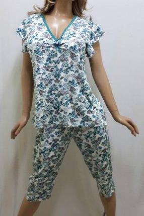Пижама больших размеров с бриджами, размеры от 48 до 58 р-р, Харьков, фото 2