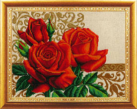 """Набор для вышивания бисером """"Цветы любви"""""""