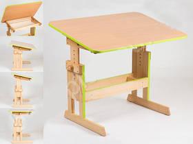 Письмовий стіл дитячий зростаючий регульований школяру