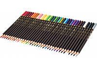 """Карандаши цветные профессиональные Cool For School """"ArtPro"""", 36 цветов, треугольные"""