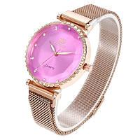 Женские часы RINNADY на магнитной застёжке (Золотые)