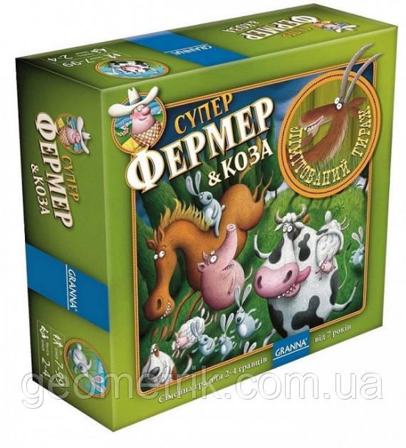 """Настольная игра """"Суперфермер & Коза (Super Farmer & Goat)"""" 7+"""