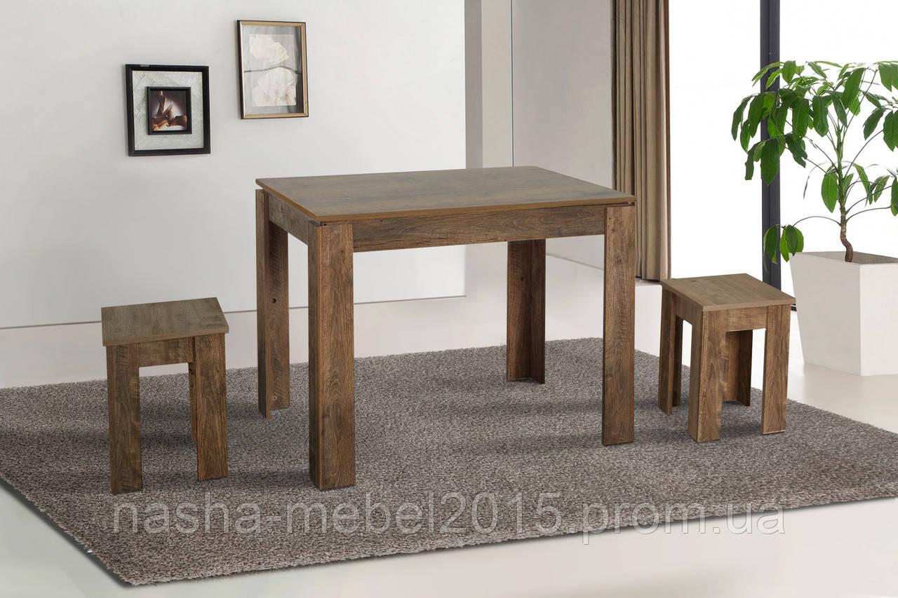 Стол обеденный кухонный Андервуд 100х70