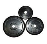 Блин (диск) обрезиненный вес 2,5 кг, d 30мм, фото 2