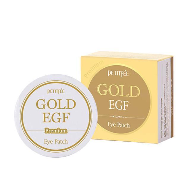 Премиум Гидрогелевые патчи для кожи вокруг глаз с золотом и EGF Premium Gold & EGF Eye Patch