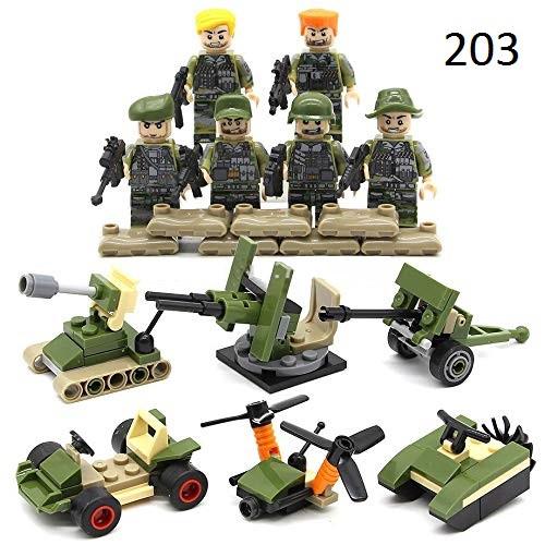 Фигурки солдаты морской пехоты SWAT спецназ военные армия лего lego
