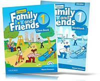 Family and Friends 2th edition 1, Class book + Workbook   учебник + тетрадь (комплект с диском) английского языка