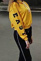 Костюм (худи с принтом и штаны) женский, фото 1